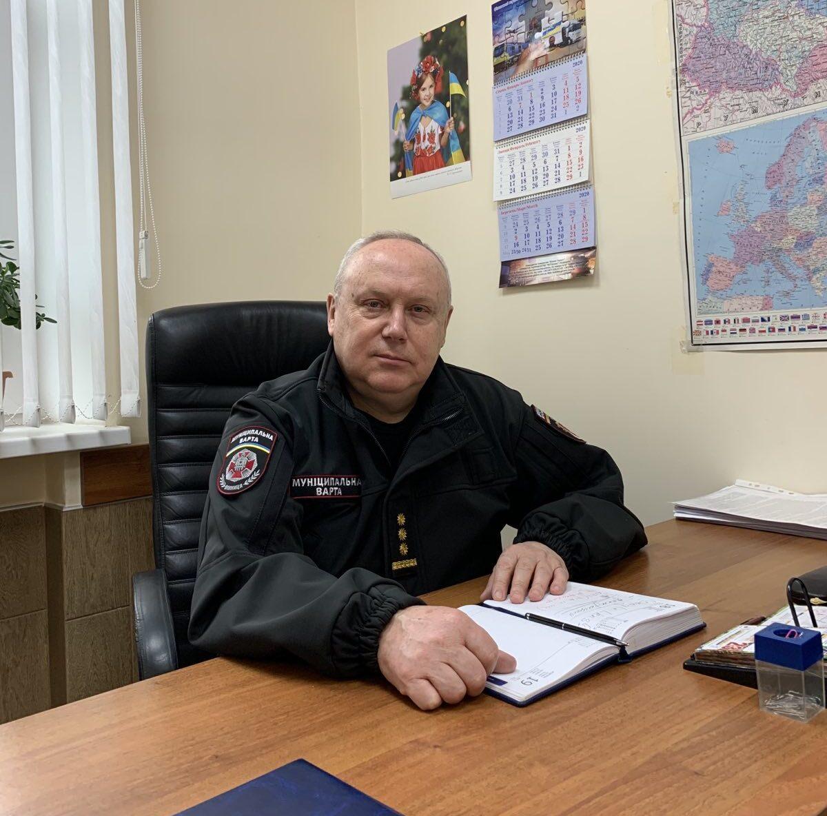 Манзюк Олександр Сергійович : Перший заступник начальника