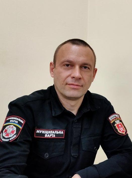 Романчишен Сергій Леонідович :   Начальник відділу моніторингу території